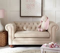 mini couches for kids bedrooms. Chesterfield Mini Sofa   Pottery Barn Kids Couches For Bedrooms E