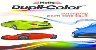 Dupli Color Catalogue Sa Auto Find The Matching Holts