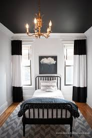 Contemporary Black And White Curtains Find This Pin More With Design