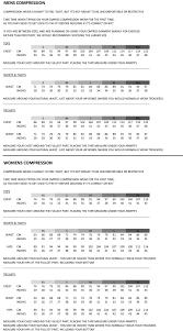 Cmp Size Chart Cmprss Info