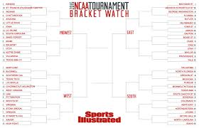 2016 Ncaa Tournament Bracket Si Coms First Full Field Projection