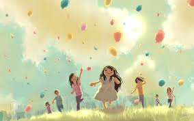 Image result for picture painting of childhood