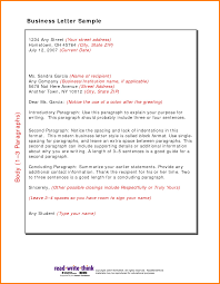 Types Of Business Letter Format And Examples All Letters Different ...
