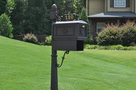 cool residential mailboxes. Image Of: Decorative Black Residential Mailboxes Ideas Cool