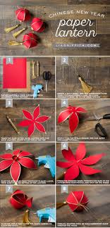 Diy Paper Lanterns Diy Chinese New Year Paper Lantern Lia Griffith
