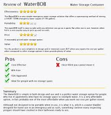 the waterbob review