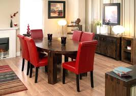 red upholstered dining room chairs. Cheap Red Dining Chairs Oak Table And Leather Room . Upholstered