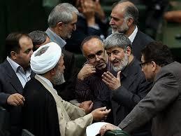 Afbeeldingsresultaat voor علی مطهری در مجلس