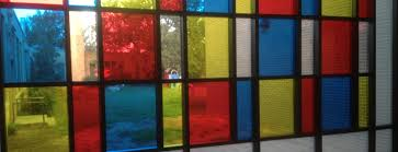 faux stained glass with window tinting