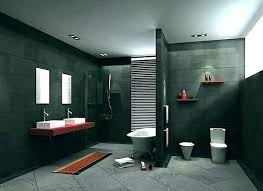 Dark Bathroom Ideas Dark Grey Bathroom Ideas Gray And Black Bathroom Delectable Black Bathroom Tile Ideas