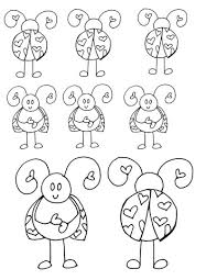 luvbugpage how to use copic markers tutorial 14 luv bugs printable on love bug printable
