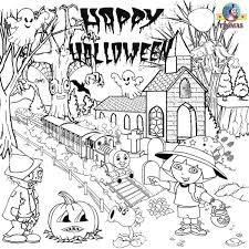 Small Picture Halloween Coloring Pages For 5th Graders Coloring Pages