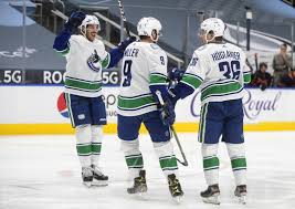 The oilers are appearing for the second straight year in the playoffs and the jets will be in the playoffs for the fourth straight season. Canucks Stop 6 Game Skid With 6 3 Victory Over Oilers