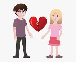 sad couple png hd sad love cartoon