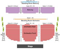 Matthews Theatre At Mccarter Center Seating Chart Princeton