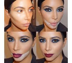 perfect contour makeup starts with learning how to first frame your face according to the face cut you have take the darkest of the two stick foundations