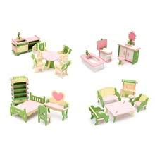 cheap dollhouse furniture. mini cute wooden delicate dollhouse furniture toys miniature for kids children funny pretend play role playing toy with box cheap