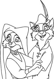 Small Picture Disney Robin Hood Coloring Pages Wecoloringpage