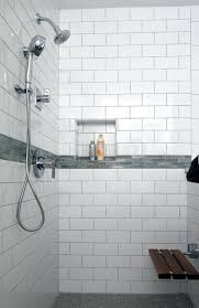 white subway tile bathroom shower white subway tile shower traditional bathroom beveled subway tile white shower