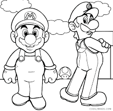 Mario Coloring Pages Coloring Page Free Coloring Pages Coloring