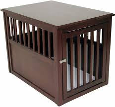 wooden dog crate furniture. amazoncom crown pet products crate wood dog furniture end table medium size with espresso finish crates supplies wooden