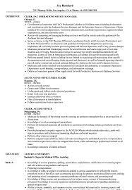 Clerk Office Resume Samples Velvet Jobs