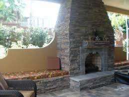 pre built outdoor fireplace