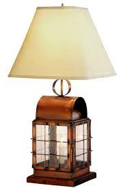 handmade lighting fixtures. BACK BAY NAUTICAL TABLE LAMP Handmade Lighting Fixtures