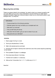 Measuring Time Worksheets Free Worksheets Library | Download and ...