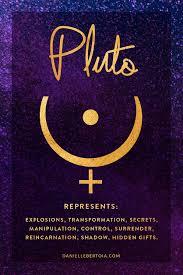 Pluto Planetary Ruler Of Scorpio Vedic Astrology