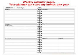 Academic Weekly Calendar 2019 2020 Weekly Planner Academic Yearly Calendar 2019 2020 Personalized Planner Weekly Scheduler Gift For Girl Friend Sku Pli Dia2