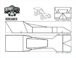 Pinewood Derby Template Delectable Fast Pinewood Derby Car Templates Best Of Wooden Swisstrustco