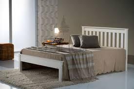 Denver Ivory Kingsize Low Foot End Bed Frame | INTERIORS | Pine bed ...