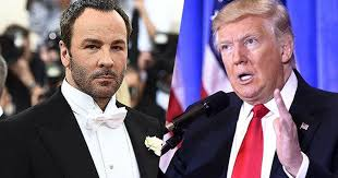 Donald Trump blasts <b>Tom Ford for</b> comments about soon-to-be First ...