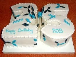 25th Birthday Cake For Him A Birthday Cake