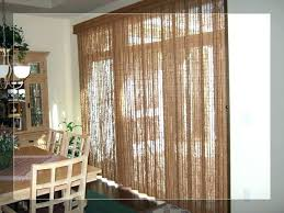 amazing picture of window treatment for sliding glass door in kitchen curtain large mfinphoto com patio