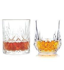 crystal glasses set king international glass heavy base whisky of 8 12