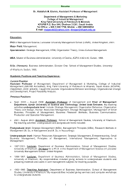 Adjunct Professor Resume Example Sample Associate Cover Adjunct