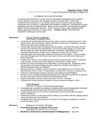 Human Resources Coordinator Resume Free Resume Example And