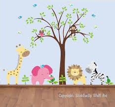 baby room wall sticker   personalised baby wall sticker by