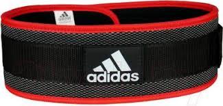 <b>Пояс</b> для пауэрлифтинга <b>Adidas Nylon</b> Lumbar <b>Belt</b> L ADGB-12238