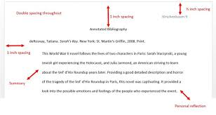 Sample Annotated Bibliography Template SP ZOZ   ukowo