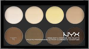 highlight contour pro palette nyx contour palettehighlighting contouringmakeup listmakeup essentialsnyx
