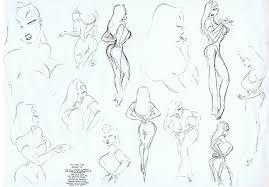 Jessica Rabbit Model Sheet