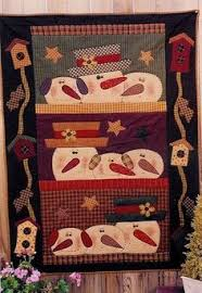 Free Primitive Quilt Patterns | Primitive Crafts Americana Folk ... & free snowman quilt patterns - Google Search Adamdwight.com