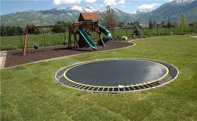 in ground trampoline. Trampolines Built Into The Ground Why Placing Your Springfree Trampoline In Is Not
