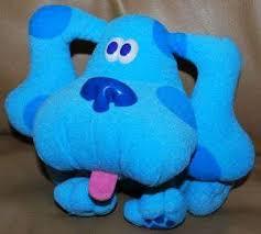 Nick Jr BLUE Blues Clues Puppy Dog Small Plush Toy
