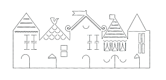 best images about christmas village templates 17 best images about christmas village templates cutting files christmas villages and putz houses