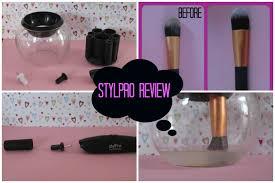 stylpro review makeup brush cleaner lauren21