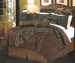 turquoise brown bedding and green best of western cowboy